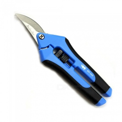 OJADE Non-Slip Bent Mouth Clamp Pliers Maintenance Tool - Blue