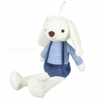 40cm/15.7inch Lovely Long Ears Bunny Soft Plush Stuffed Doll Toys for Baby