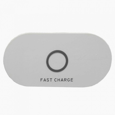 10W 5V 2A / 9V 1.67A QI Wireless Fast Charge Charging Pad Plate for IPHONE / Samsung and More - White