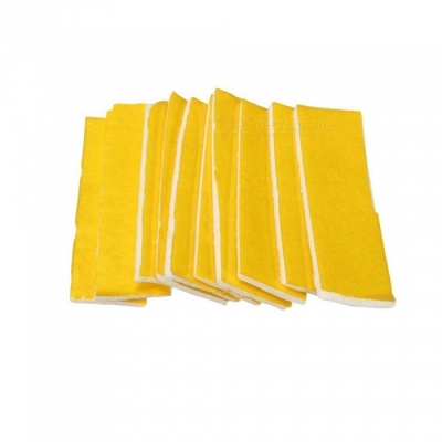 ZHAOYAO 10Pcs Fast Heating Insulation Cotton with 3mm Thickness for Ultimaker / Makerbot