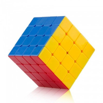 Cyclone Boys 60mm 4x4 Smooth Speed Magic Cube Puzzle Toy for Kids - Colorful