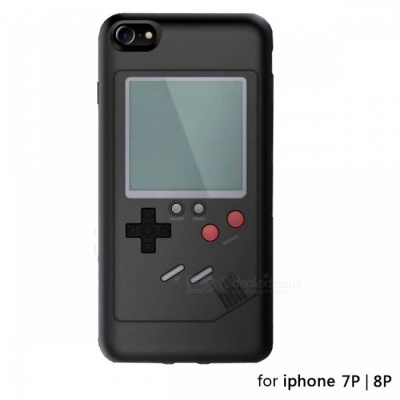 Classic Game Console Style Protective Case Cover for IPHONE 7 PLUS / 8 PLUS - Black