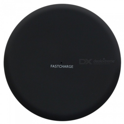 ASLING ASL-C001 10W Fast Charge Qi Wireless Charger Pad for Qi-devices - Black