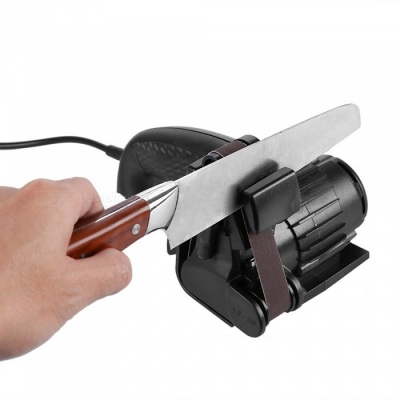 MD20 Precision Sharpening from 15° to 30° Premium Flexible Abrasive Belts Tool Sharpener 220V