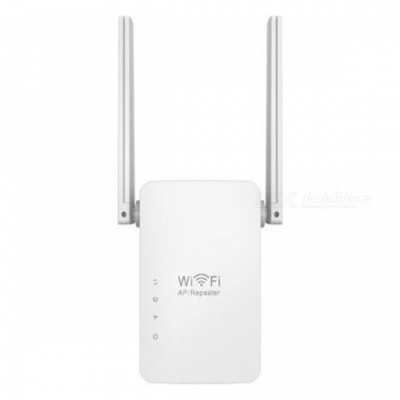 300Mbps Wireless Repeater, 802.11 Wireless-N AP Range Signal Extender Booster