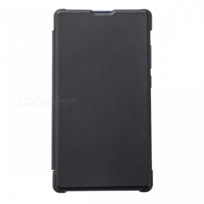 DOOGEE PU Plastic Protective Flip-Open Case for DOOGEE MIX Lite - Black