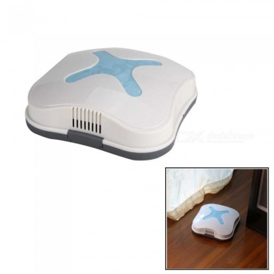 Mini Intelligent Automatic Sensor Lazy Vacuum Robot Sweeping Machine - Blue + White