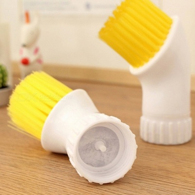Creative Portable Door and Window Cleaning Brush - Yellow