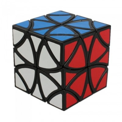QiYi 55mm LanLan Butterfly Curvy Copter Speed Cube, Smooth Magic Cube Finger Puzzle Toy