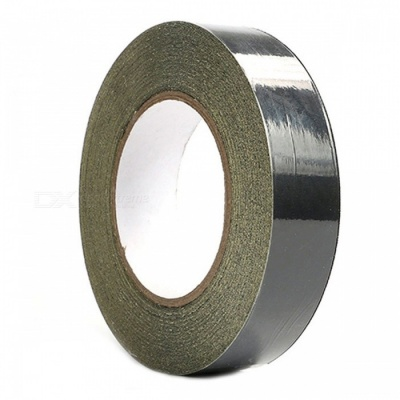 ZHAOYAO High Temperature Insulation Sticky Acetate Adhesive Tape for Motor Coil Winding LCD Repair - Black (1 x 300cm)