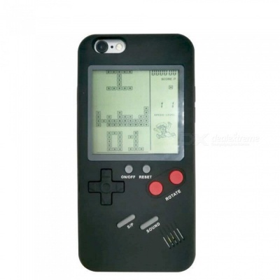 Retro Vintage Tetris Game Phone Case 4.7inch for IPHONE 8  - Black