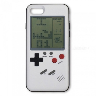 Retro Vintage Tetris Game Phone Case 4.7inch for IPHONE 6S - white