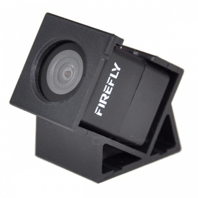 HAWK-EYE Firefly 160 Degrees HD 1080P FPV Micro Action Camera Mini Cam DVR, Built-in Mic - Black