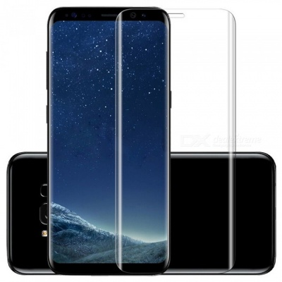 ASLING Full Body High Definition HD Tempered Glass Screen Protector for Samsung Galaxy S9