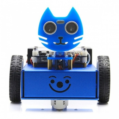 Waveshare KitiBot Starter Robot, Graphical Programming, 2WD Version
