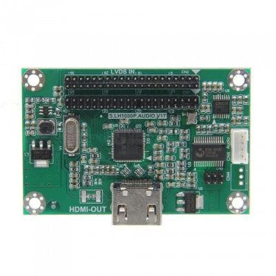 Geekworm LVDS To HDMI Adapter Board, Support 1080P Resolution