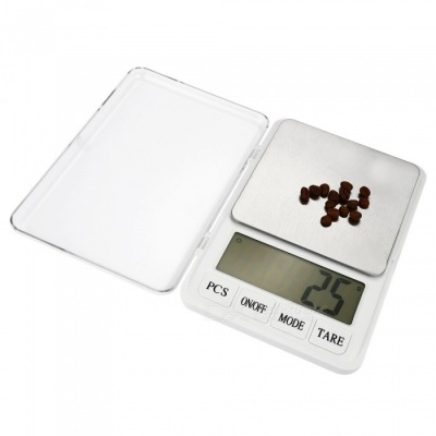 "High Quality 4.5"" Display Screen 6000g/0.1g Kitchen Scale Medicine Material Scale"