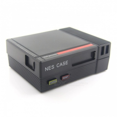 Retro NESPI Style Case with Power and Reset Buttons for Raspberry Pi 3 / 2 / B+