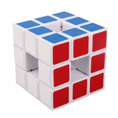 QiYi LanLan Hollow Speed Cube Smooth Magic Cube Finger Puzzle Toy 57mm