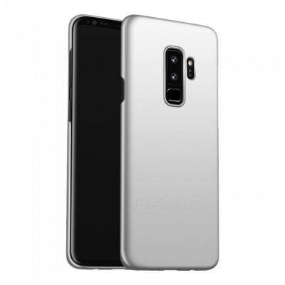Naxtop PC Hard Protective Back Case for Samsung Galaxy S9+ - Silver