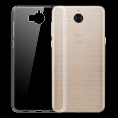 Dayspirit Ultra-Thin Protective TPU Back Case for Huawei Y5 2017 - Transparent