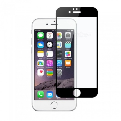 Dayspirit Tempered Glass Screen Protector for IPHONE 6, IPHONE 6S - Black