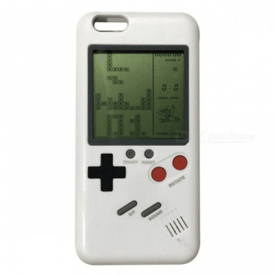 Game Integrated Phone Case, Back Cover for IPHONE 6, 7, 8 - White