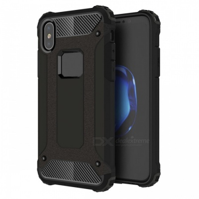 Dayspirit King Kong Armor Style Shockproof Anti-Scratch Protective Back Cover Case for IPHONE X