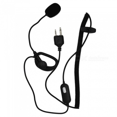 Walkie-Talkie Tactical Ear Stick Headset for MIDLAND GXT400 GXT450 GXT500,GXT550