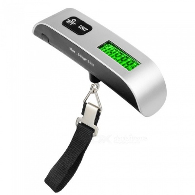 Portable Electronic Luggage Scale ,50kg T Shape Smart Pocket Scale