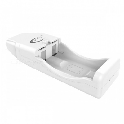 BTY BTY-V823+ USB AA AAA Battery Smart Charger with Indicator - White