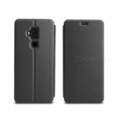 OCUBE Protective Flip-open PU Leather Case for Blackview S8 5.7 Inches - Black