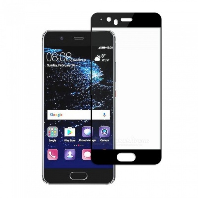 Dayspirit Tempered Glass Screen Protector for Huawei P10 - Black