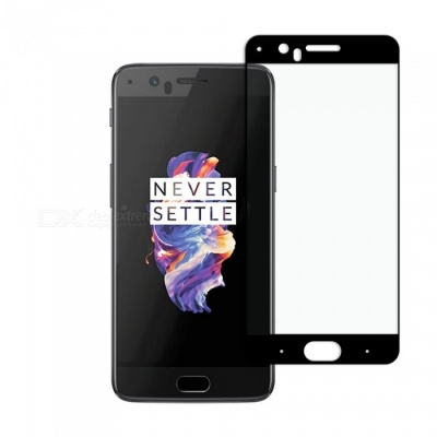 Dayspirit Tempered Glass Screen Protector for OnePlus 5 - Black