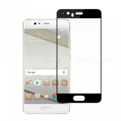 Dayspirit Tempered Glass Screen Protector for Huawei P10 Plus - Black