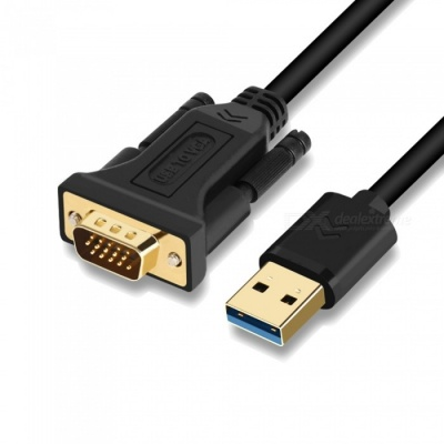 USB 3.0 to VGA Video Adapter Cable for Computer Projector - Black