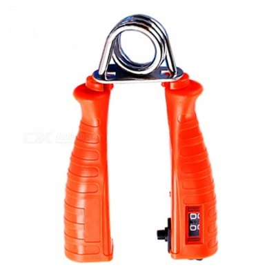 Portable Mechanical Counting Grip, Finger Rehabilitation Apparatus - Red