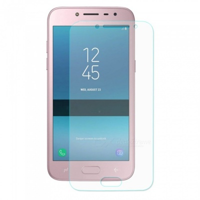 ENKAY 2.5D Tempered Glass Screen Protector for Samsung Galaxy J2 Pro 2018 - Transparent