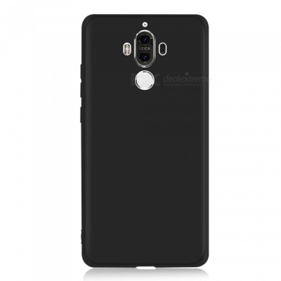 Dayspirit Full Covered Protective Matte Frosted TPU Back Case for Huawei Mate 9 - Black