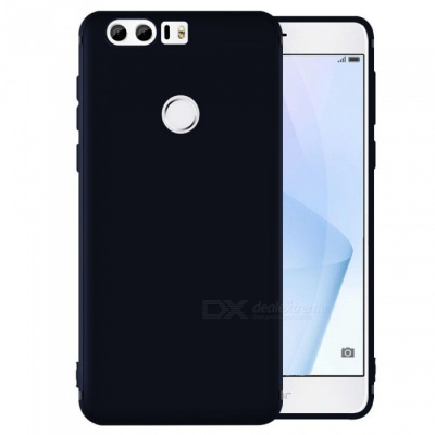 Dayspirit Protective Matte Frosted TPU Back Case for Huawei Honor 8 - Black