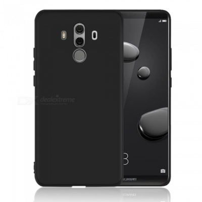 Dayspirit Protective Matte Frosted TPU Back Case for Huawei Mate 10 Pro - Black