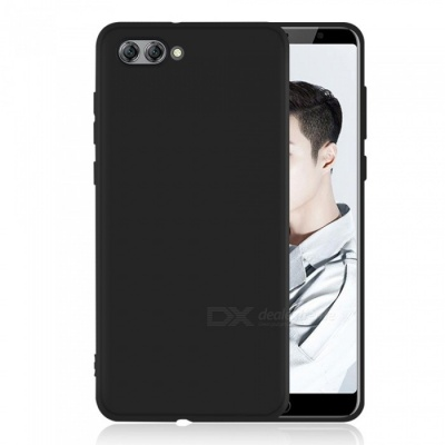 Dayspirit Protective Matte Frosted TPU Back Case for Huawei Nova 2s - Black