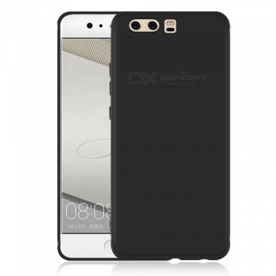 Dayspirit Protective Matte Frosted TPU Back Case for Huawei P10 - Black