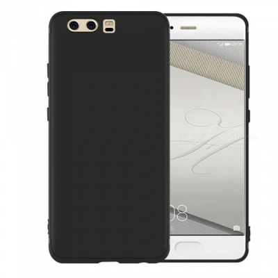 Dayspirit Protective Matte Frosted TPU Back Case for Huawei P10 Plus - Black