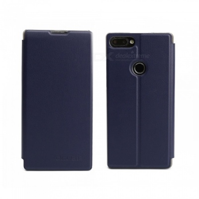 OCUBE Protective Flip-open PU Leather Case for Vernee Mix 2 6.0 Inches - Blue