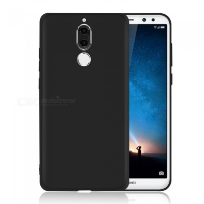 Dayspirit Protective Matte Frosted TPU Back Case for Huawei Mate 10 Lite - Black