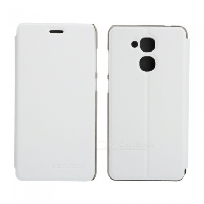 OCUBE Protective Flip-open PU Leather Case for Vernee M5 5.2 Inches - White