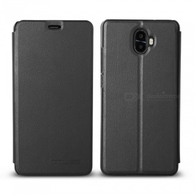 OCUBE Protective Flip-open PU Leather Case for Oukitel K8000 5.5 Inches - Black