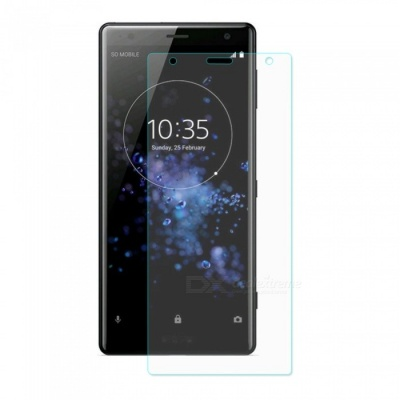 ENKAY 2.5D Tempered Glass Screen Protector for Sony Xperia XZ2 - Transparent