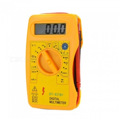 Digital Multimeter Voltage Ammeter Voltage and Current Testing